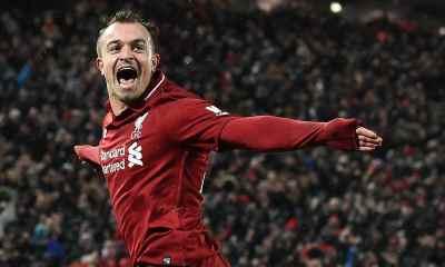 Shaqiri Helps Liverpool Defeat United