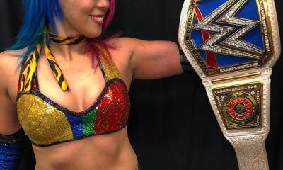 Asuka finally ascends to the top of the SmackDown women's division at TLC