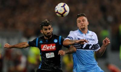 Serie A: Napoli Face Lazio At The San Paolo