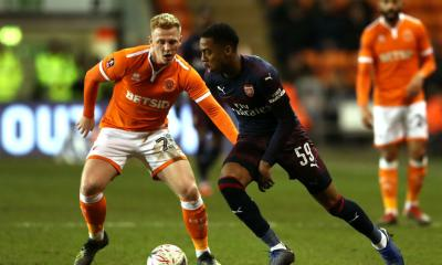 Willock Brace Sees Arsenal Ease To Victory Over Blackpool