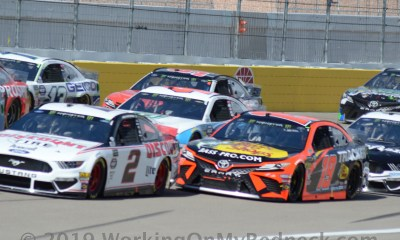 Brad Keselowski Looks To Keep Making Up Ground On Denny Hamlin