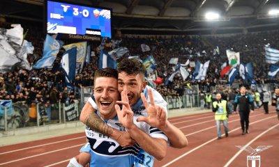 Lazio Demolish Roma For Derby Day Spoils