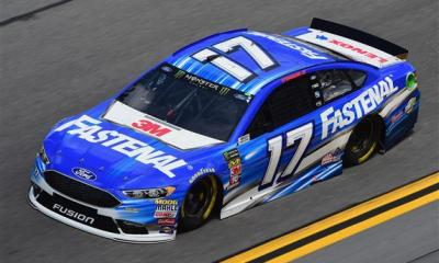 Ricky Stenhouse Jr. Enters the Desert on Fire