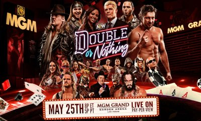 Double or Nothing Final Match Card and Last Minute News