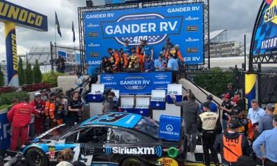 Martin Truex Jr. Wins Monday Rainout Race at Dover