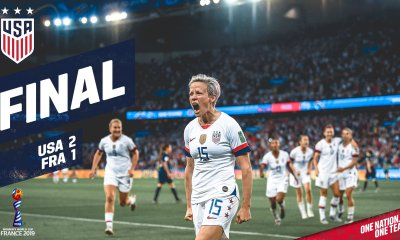 Rapinoe Double Helps USA Reach The Semi-Finals