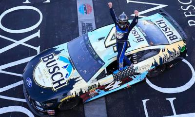 Kevin Harvick Earns First 2019 Win at New Hampshire