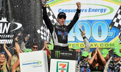 Kevin Harvick Holds Serve In Michigan With Back To Back Wins