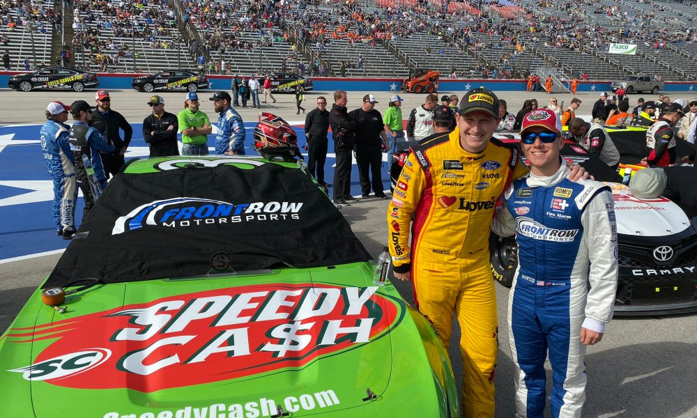 Front Row Motorsports Reveals 2020 Driver Lineup