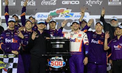 Denny Hamlin's Third Daytona 500 Win Overshadowed by Ryan Newman's Crash