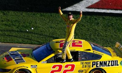 Joey Logano Earns Second-Straight Pennzoil 400 Win