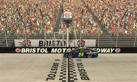 William Byron Wins Tumultuous Race at Virtual Bristol