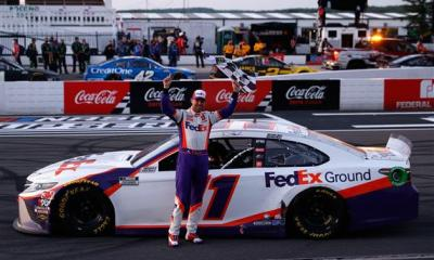 Denny Hamlin Earns Historic 6th Pocono Win