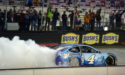 Harvick Earns Ninth Win of 2020 at Bristol