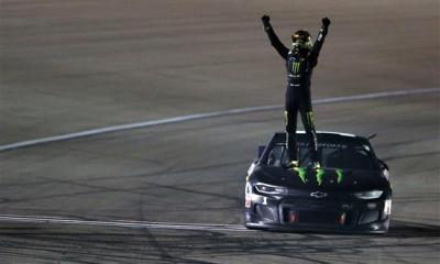 Kurt Busch Earns First Win of 2020 at Las Vegas