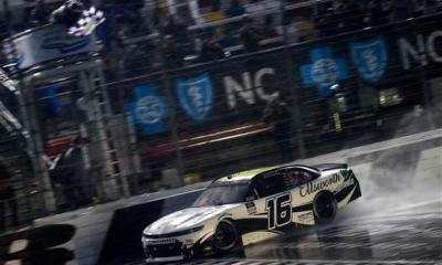 AJ Allmendinger Wins Rain Race at Charlotte Roval