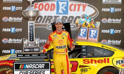 Joey Logano Wins Food City Dirt Race at Bristol