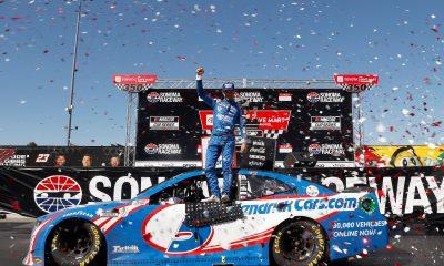 Larson Goes Back-to-Back in Sonoma