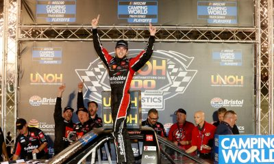 Chandler Smith Comes in Clutch at Bristol