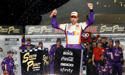 Hamlin Cashes in Big with First Vegas Win
