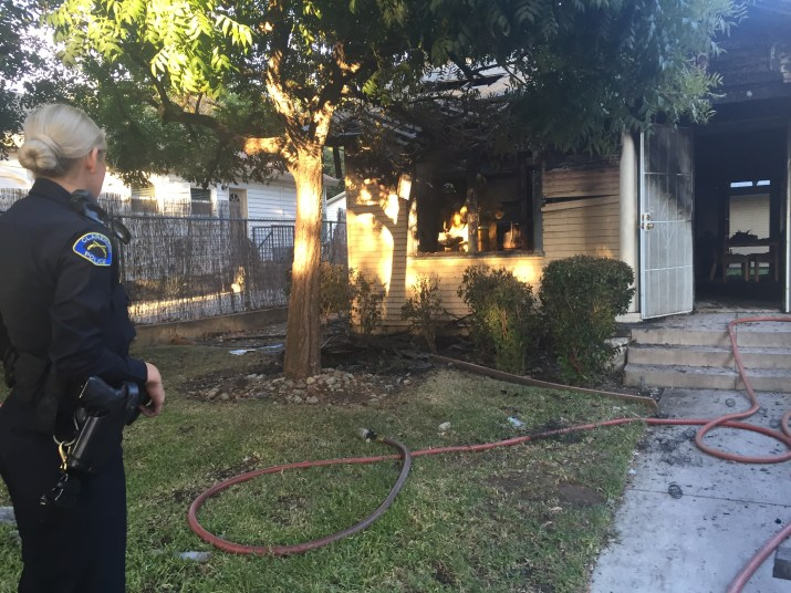 Residential Fire Occurs Next to Pomona Track - The Student Life