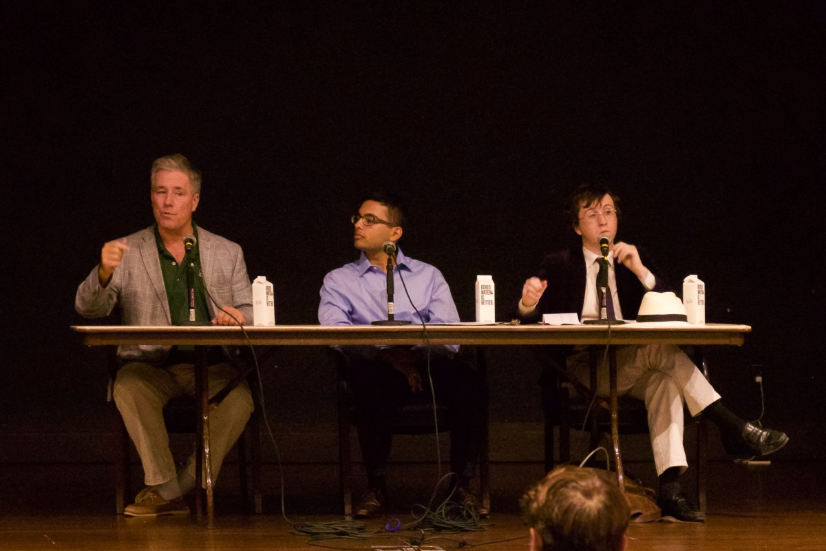 Socialist battles capitalist in fiery debate, captivates audience