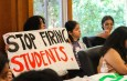 Pomona students stage sit-in to protest 'financial insecurity and inaccessibility'