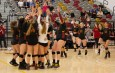 After first set loss, CMS volleyball dominates La Verne and heads to SCIAC finals