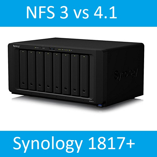 Synology in the Homelab – NFS 3 vs 4.1