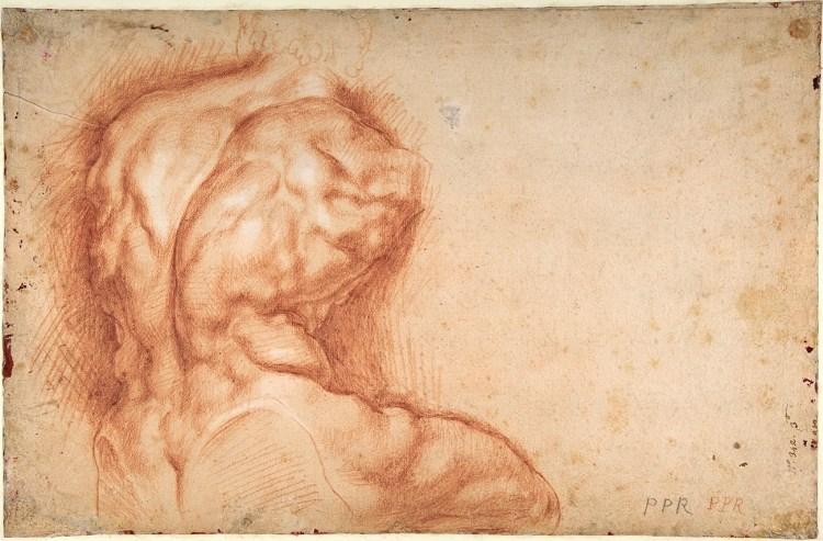 Peter Paul Rubens - Study of the Torso Belvedere