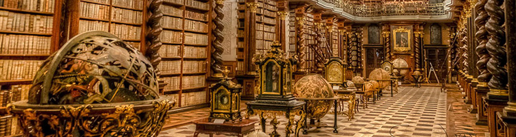 The Clementinum, Prague, Czech Republic, header