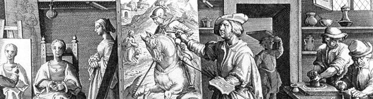 La Bottega del Pittore Giovanni Stradano Renaissance Workshop Art Studio