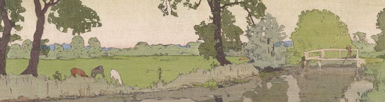 Frank Morley Fletcher - Wiston River, header
