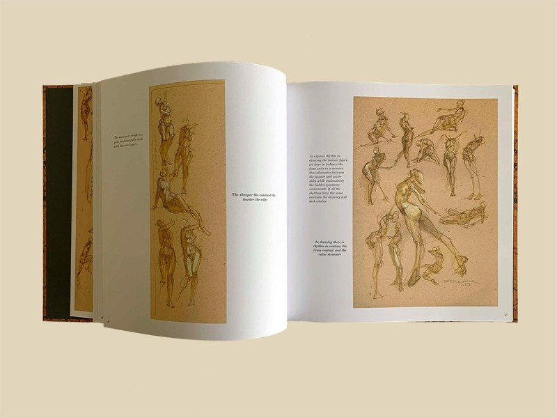Michael Mentler, The Book of Bones, pages inside the book 03