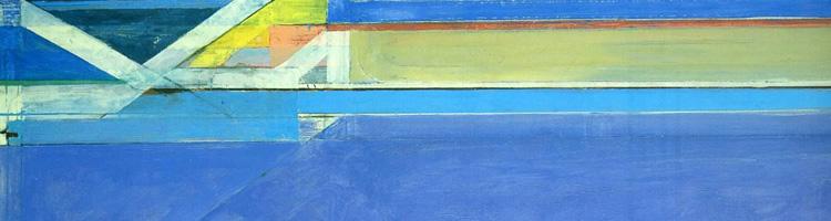 Richard Diebenkorn - Ocean Park No. 129, header