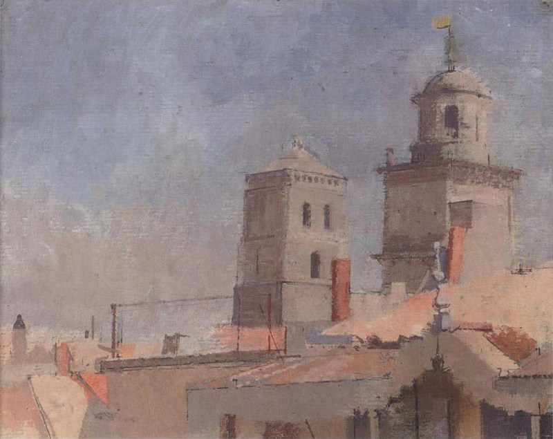 William Coldstream - Saint Trophime, Arles II