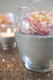 λουλούδια με άμμο