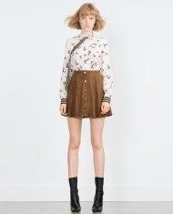Zara μίνι φούστα
