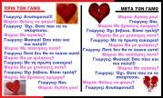 Προγαμιαίος έρωτας — Μεταγαμικό μίσος!!! Τα ίδια λόγια αλλά…..