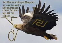 Φωτοντοκουμέντο!!! Παράνομη αμφί σχέση με λαθραίο γλάρο έχει ο αετός του Μιχαλολιάκου!!!