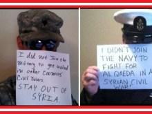 """Αναβρασμός στις ένοπλες δυνάμεις των ΗΠΑ: """"Δεν κατατάχθηκα για να πολεμήσω στο πλευρό της Αλ Κάιντα!!!"""