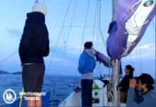 """Χειμερινή Ερευνητική Αποστολή στο Βόρειο-Ανατολικό Αιγαίο από το """"Αρχιπέλαγος"""""""
