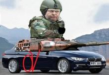 Μου τάλεγαν για τη θωρακισμένη BMW του παχύσαρκου ληστή, αλλά που να προλάβω το κοπυράϊτ….