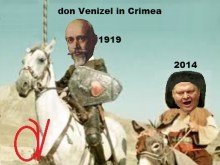 ΠΡΟΦΗΤΕΙΑ-ΚΑΤΑΡΑ, θέλει έναν don Benizelos και έναν Mordechai Frizi, να εκστρατεύουν κατά της Κριμαίας!