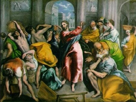 ΙΗΣΟΥΣ ΔΙΩΧΝΕΙ ΤΟΥΣ ΕΜΠΟΡΟΥΣ ΑΠΟ ΤΟΝ ΝΑΟ