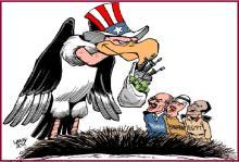 Ο Εβραιοαμερικάνικος εκδημοκρατισμός της Μέσης Ανατολής…..
