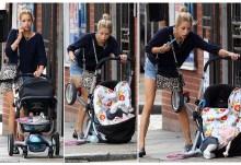 Σάλος στην Αγγλία για παρουσιάστρια που συνέχισε να μιλά στο κινητό της, αφού είχε ρίξει το μωρό της από το καρότσι!!!