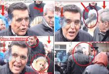Ηλικιωμένος στις Φέρες επιτέθηκε με πατερίτσα στον πρώην υφυπουργό των δυνάμεων καταστολής του ΠΑΣΟΚ Γιώργο Ντόλιο!!! (ΒΙΝΤΕΟ)
