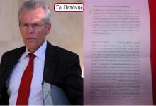 """Η διαβίβαση του φακέλου για τα μαγειρέματα των στατιστικών Στοιχείων της Ελληνικής οικονομίας, στη Βουλή από τον οικονομικό εισαγγελέα Γρ. Πεπόνη, ξεσκέπασε το «πολιτικό"""" παιχνίδι του Αντεισαγγελέα του Αρείου Πάγου, Μακρή και τη λυσσαλέα επίθεση του τραμπούκου της τρόϊκα."""