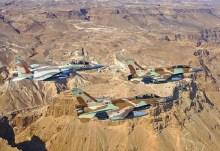 Τέσσερα Ισραηλινά στρατιωτικά αεροσκάφη, παραβίασαν τον εναέριο χώρο του Λιβάνου.